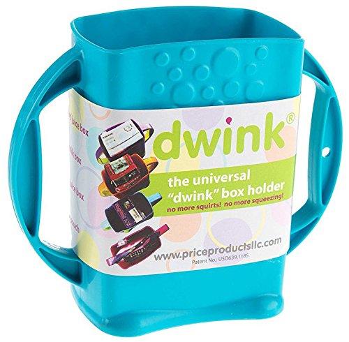 Dwink Universal Juice Pouch Milk Box Holder - Holder Juice Box Adjustable