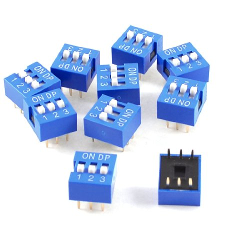 6 position dip switch - 4