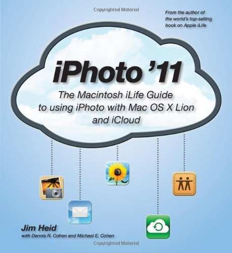 [PDF] iPhoto ?11: The Macintosh iLife Guide to using iPhoto with OS X Lion and iCloud Free Download | Publisher : Peachpit Press | Category : Computers & Internet | ISBN 10 : 0321819519 | ISBN 13 : 9780321819512