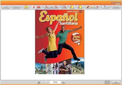 Español Santillana for Middle School - Level 1A - Digital ...