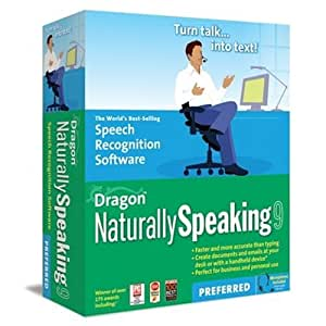 Dragon NaturallySpeaking 9 Preferred [OLD VERSION]