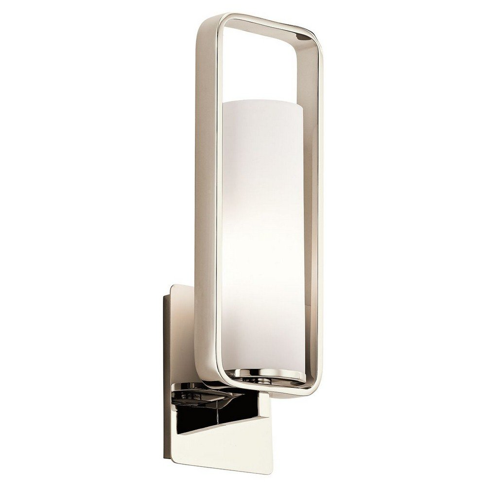 Kichler 43787PN One Light Wall Sconce