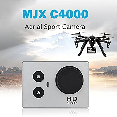 C4000 Aerial Sport Camera 8MP Cam Full HD For MJX Bugs B3 X102H 3D Roll RC Quadcopter , Tuscom by Tuscom@