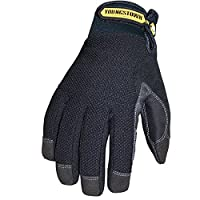 Guante Youngstown 03-3450-80-L Impermeable Winter Plus Performance Glove, Grande, Negro