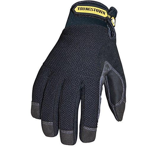 Youngstown Glove 03-3450-80-M Waterproof Winter Plus Performance Glove Medium, Black (Best Winter Glove Brands)