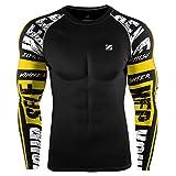 Best Champion Running Vests - Zipravs MMA Bjj Compression Tight Shirt Longsleeve Running Review