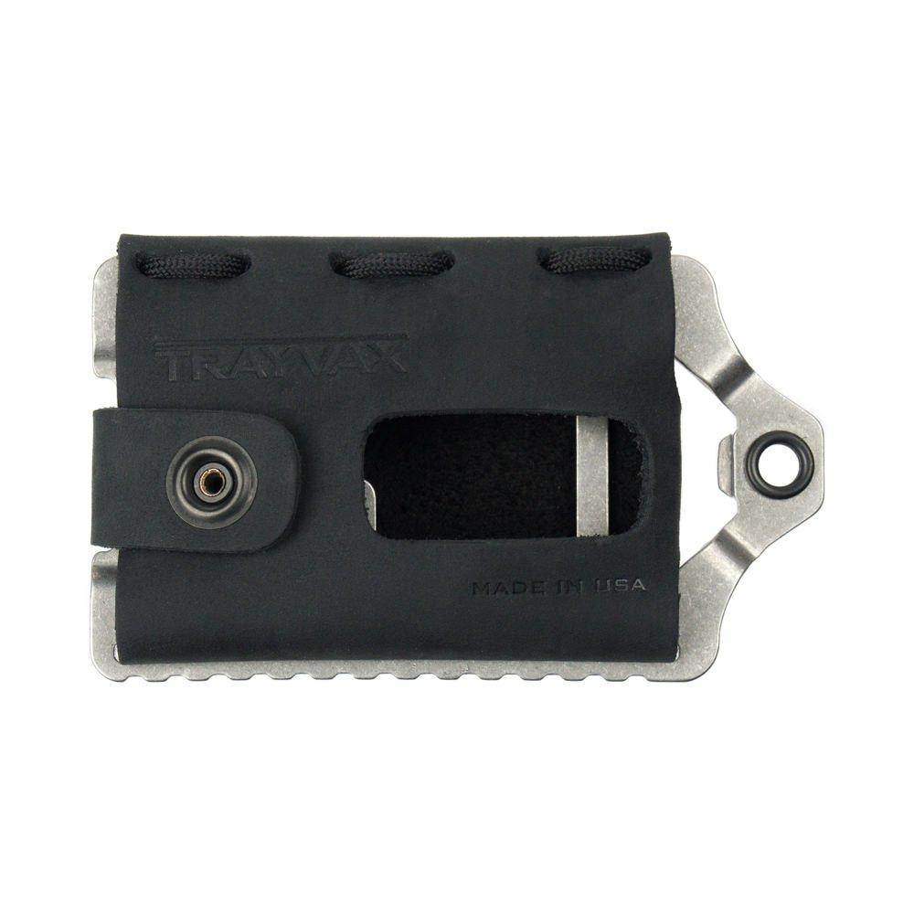 Trayvax ACCESSORY メンズ B075FZ1VK8ステルスブラック(Stealth Black)