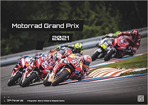 Grand Prix Moto 2021   Calendrier   Format: A3 | MotoGP: Le