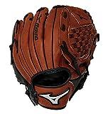 Mizuno Prospect Baseball Glove, Peanut/Black, Youth/Kids, 10.5'', Worn on Right Hand