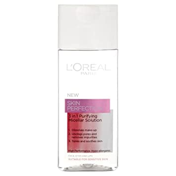 Amazon.com: L Oréal Paris Skin Perfection 3 in1 Purifying ...