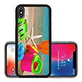 Liili Premium Apple iPhone X Aluminum Backplate Bumper Snap Case toys for childrens sandboxes against the sea and the beach 28412835