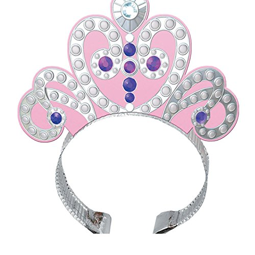 Bargain World Foil Sofia The First Tiaras (With Sticky (Sofia The First Thank You Notes)