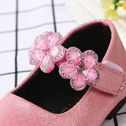 Clode® Baby Fashion Kleinkind Kinder Ballerina Floral Prinzessin Casual Flache Schuhe Rosa