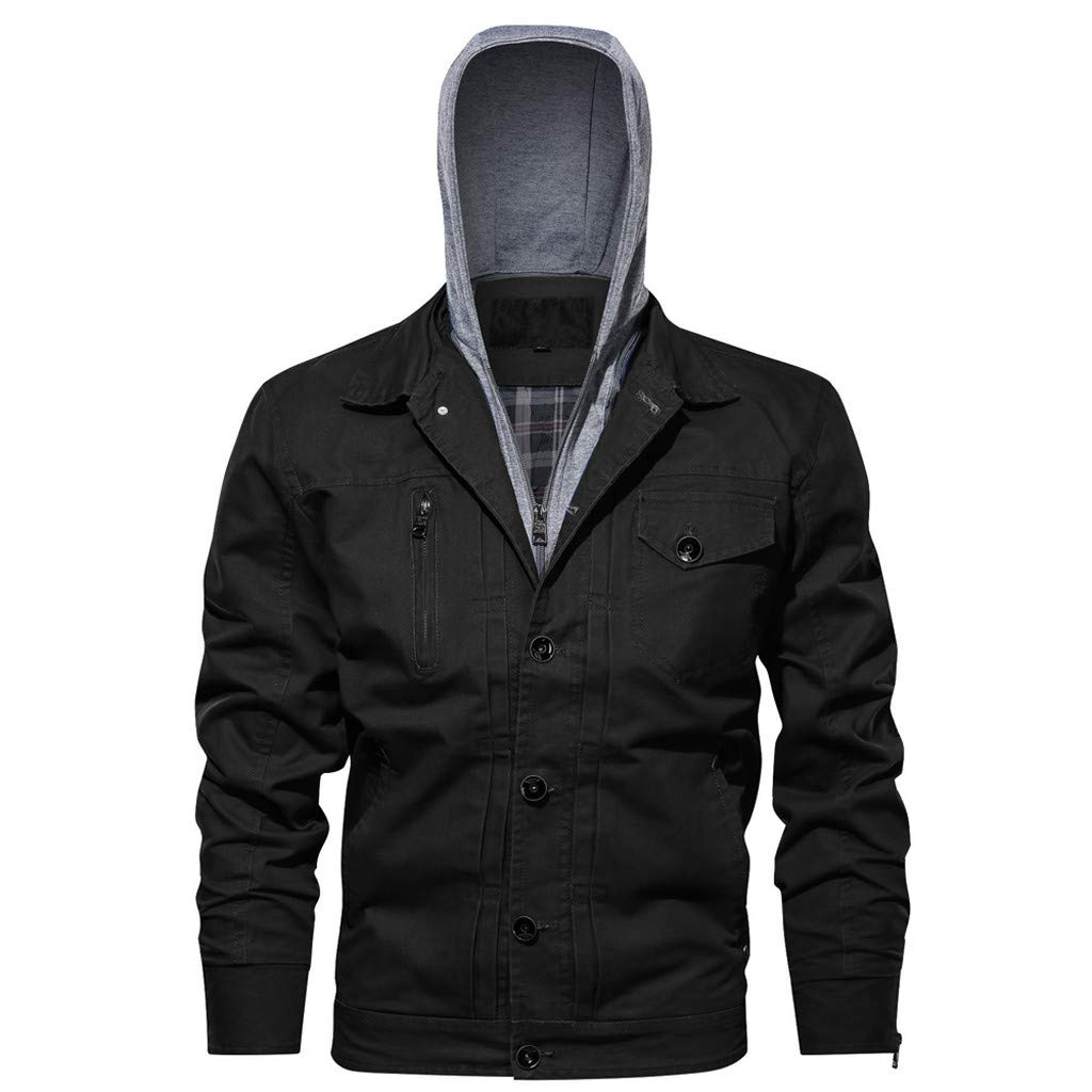 FIN86 Men's Autumn Winter Military Outwear Hoodie Tactical Breathable Jacket Coat by FIN86