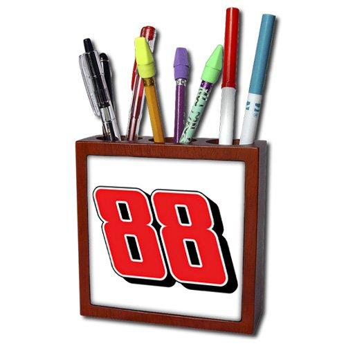 5-Inch 3dRose ph/_163985/_1 Ohana Means Family-Tile Pen Holder