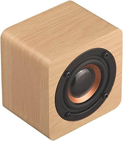 ALDD Mini Bluetooth de Madera 4.2 Altavoz Subwoofer inalámbrico portátil Caja de Sonido de Graves Música Magic Mp3 para teléfono Inteligente Tablet Pc Boombox,2: Amazon.es: Hogar