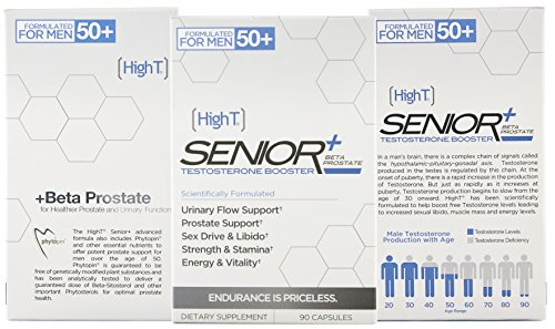 High T Senior with Beta Sitosterol for Advanced Prostate Sup