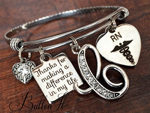 Nurse graduation gift, Nurses call the shots, Nurse preceptor gift, Nurse thank you gift, Nurse Graduate, Class of 2017 gift, RN jewelry, RN gifts, NP, PA, BSN