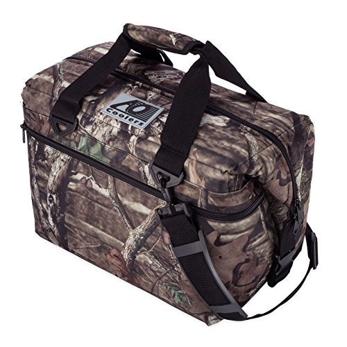 AO Coolers Canvas Soft Cooler with High-Density Insulation, Mossy Oak, 36-Can (Camo Soft Ice Chest compare prices)