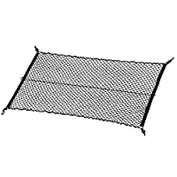 "MICTUNING Upgraded 41""x30"" Cargo Net Auto Trunk Rear Cargo Organizer Elastic Mesh Net Holder - Universal Fit for SUV Truck Mini Vans"