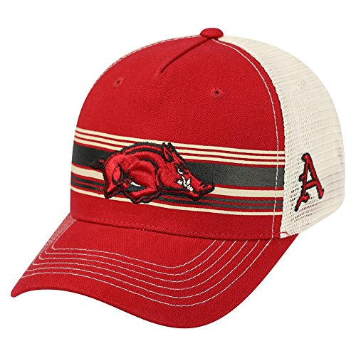 Arkansas Razorback Trucker Hat Top of the World Sunrise Adjustable ()
