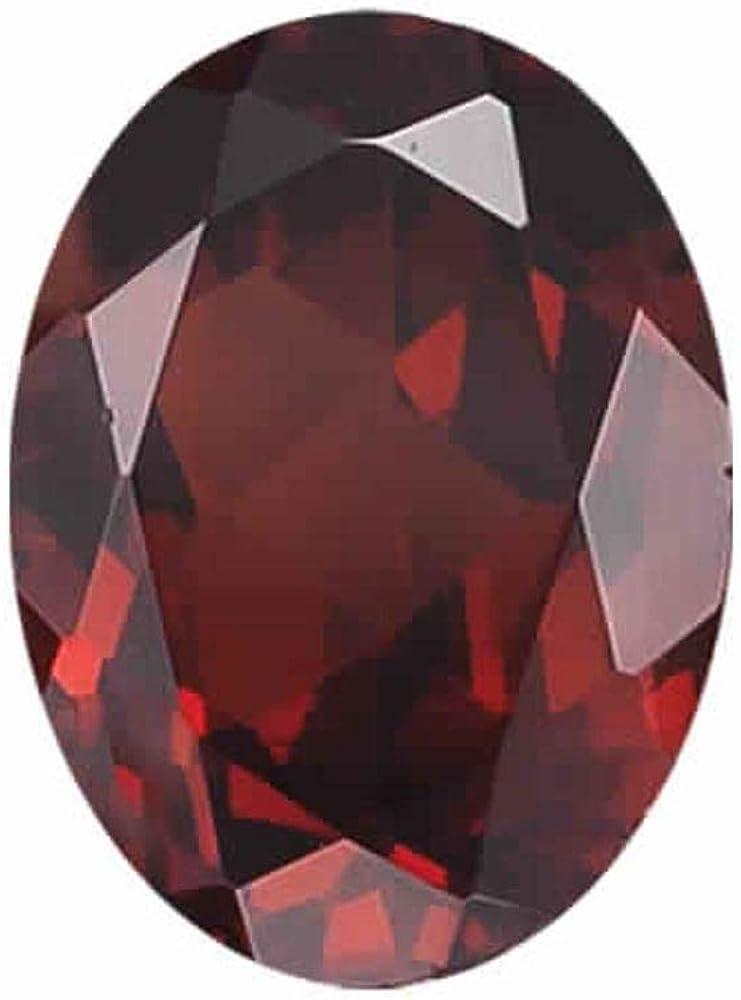 Gemstone. 1.65-2.65 Cts of 9x7 mm Oval Loose Garnet 1 pcs