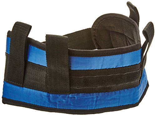 Sammons Preston Padded Gait Belt With Handles 5 5 Quot Wide