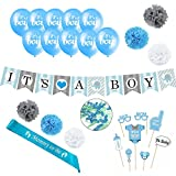 amazon mom membership - Baby Shower Decorations Set for Boy - Set Includes