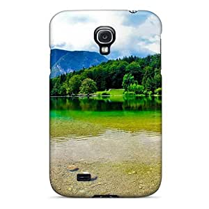 High-quality Durable Protection Case For Galaxy S4(stunning Lakescape)