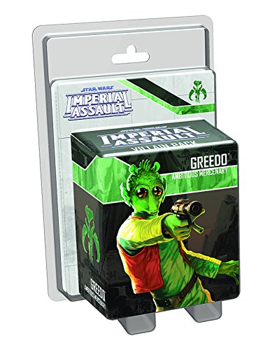 Star Wars: Imperial Assault - Greedo Villain (Best Star Wars Villains)