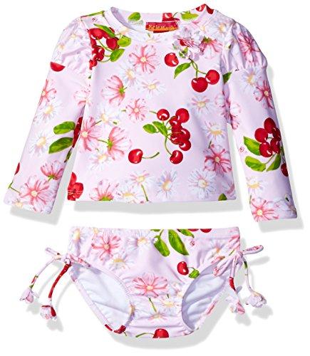 kate-mack-baby-girls-cherries-jubilee-rashguard-with-bottom-swimsuit-pink-12m