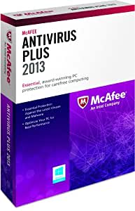 McAfee Antivirus Plus 1PC 2013 (free upgrade to 2015 /2016)