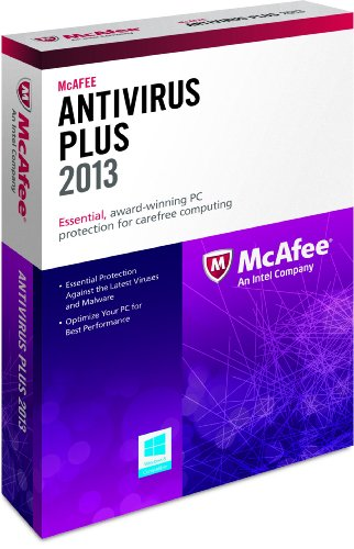 McAfee Antivirus Plus 3PCs 2013 (Free upgrade to 2016 when activated)