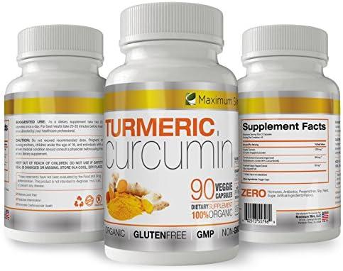 Turmeric Curcumin Piperine Available Curcuminoids product image