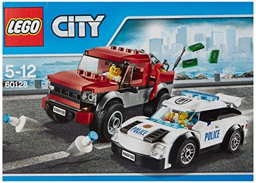 City-Polizei-Verfolgungsjagd