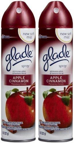 Glade Air Freshener Aerosol Spray - Apple Cinnamon - 8 oz - 2 pk by - Aerosol Apple