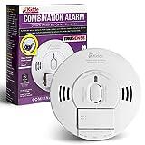 Kidde 21028499 DC Smoke and Carbon Monoxide Alarm Detector with TruSense Technology | Front Load Battery | Voice Notification | Model 2070-VDSCR, White