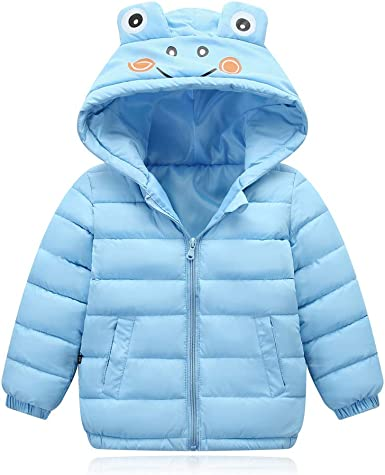 Toddler Kids Baby Girls Warm outerwear leopard print coat Newborn Winter Clothes