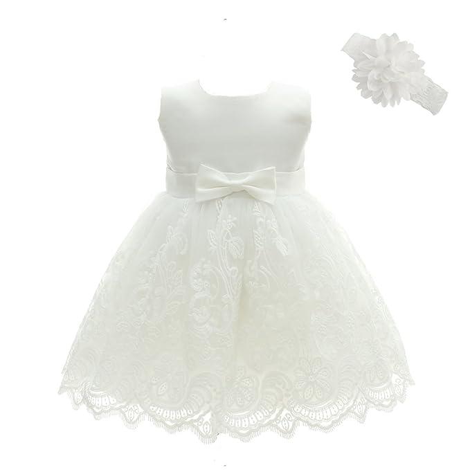 Amazon.com: Moon Kitty - Vestido de bautizo para niña: Clothing