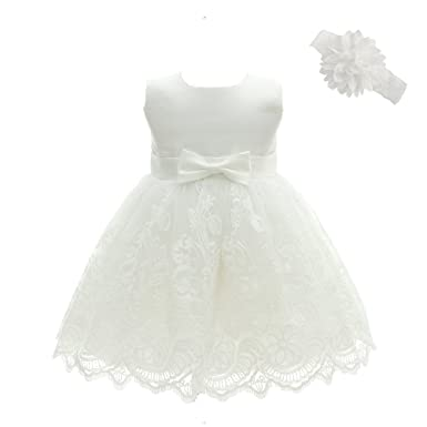 f9c0b52d398d Baby Girls Baptism Dresses Christening Gown for Baby Girl  Amazon.ca ...