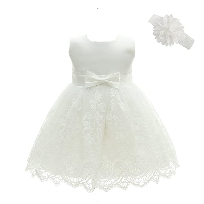 baby girls baptism dresses christening gown for baby girl amazon ca