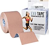 ExoTrinity Sports EX9 Premium Kinesiology Tape (2in x 16.4ft)