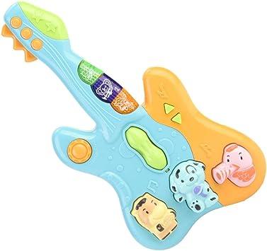 Fafeims Juguete de Guitarra de plástico, Instrumento Musical de ...