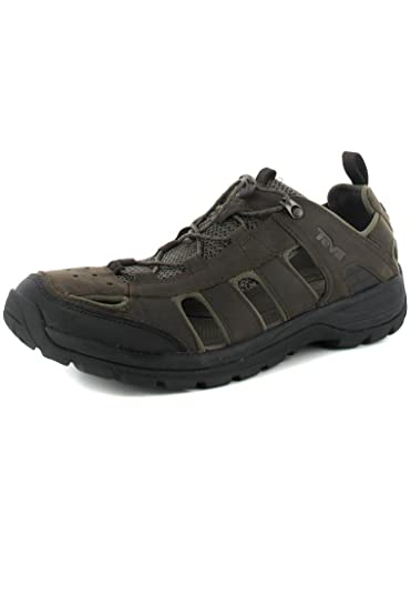 451988d96b8b Teva Men s M Kimtah Sandal Leather Track   Field Shoes  Amazon.co.uk  Shoes    Bags