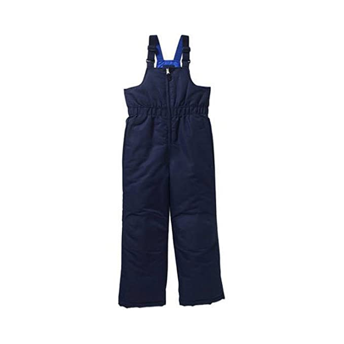 3012b50482ad Faded Glory Boy s Snow Bibs Ski Pants Bib Blue X-Large 14 16  Amazon ...