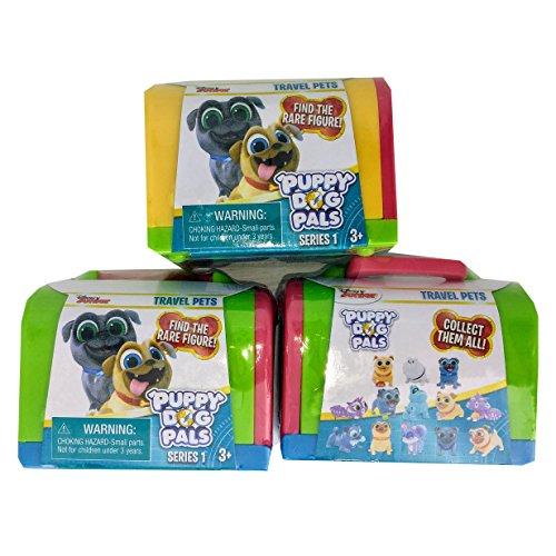 Disney Junior Puppy Dog Pals Travel Pets Blind Box Pack Of 3 Hot Sale