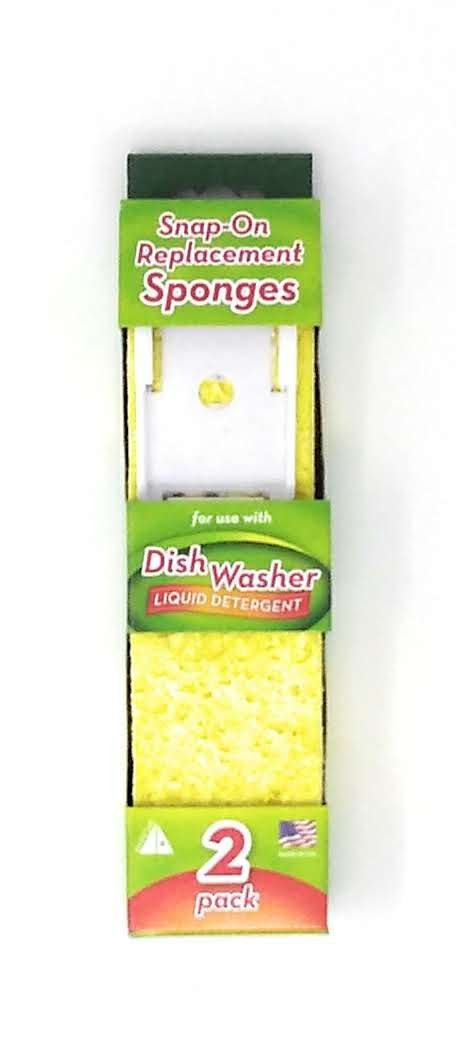 Arrow Plastic Dishwasher Replacement Sponge #00008 Pack of 3