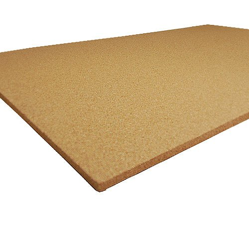 Plain Cork Sheet - 24In X 36In X 1/4In Thick -...