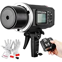 Godox AD600BM Bowens Mount 600Ws GN87 High Speed Sync Outdoor Flash Strobe Light with X1N Wireless Flash Trigger, 8700mAh Battery to Provide 500 Full Power Flashes and Recycle in 0.01-2.5 Second
