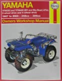 img - for Yamaha Yfm350 Atv Owners Workshop Manual: Models Covered : Yfm350Er, 1987 Through 1995, Yfm350Fw (Big Bear), 1987 Through 1995 (Hayne's Automotive Repair Manual) book / textbook / text book